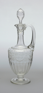Decanter And Stopper (England), late 19th century