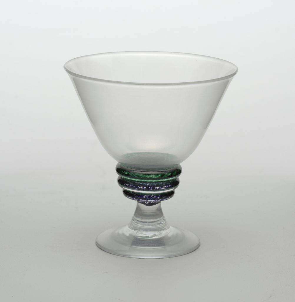 """""""Zen"""" table setting Goblet, 1988"""