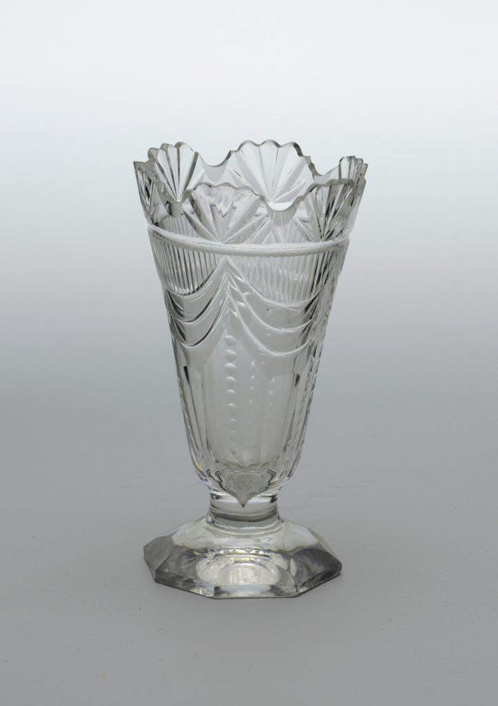 Sweetmeat Glass (Ireland), ca. 1800–20