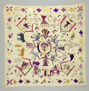 Embroidery: hindu type
