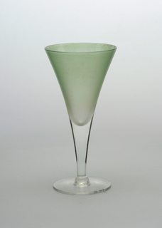 Light green frosted glass