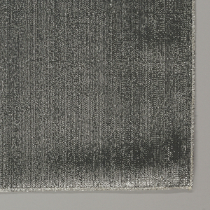Black non-woven fabric highlighted with silver.