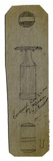 Sketch For Safety Razor (USA), December 25, 1927