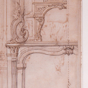 Drawing, Designs for Chimney Mantels for the Hôtel de Pomponne, Place des Victoires, Paris