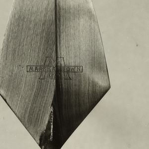 Photograph, Bricklayer's Pointing Trowel, by Marshaltown Trowel Co., $1.35, 1955