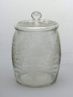 Jar And Cover, 19th century