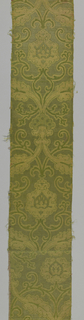 Green and gold large cartouches.
