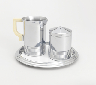 Syrup and Sugar set Sugar Caster Container & Lid, 1930–40