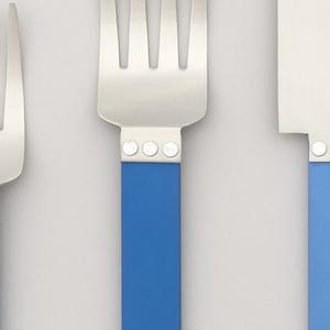 Electra Blue Dinner Fork, 1986