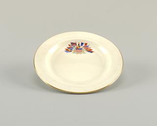 Liberty Plate, Cake, 20th century
