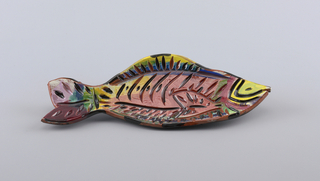 Fish shaped dish.