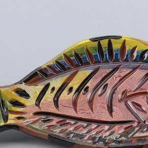 Fish shaped dish.