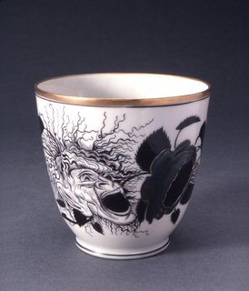 Rose and Mask Cup