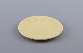 Medium ivory plate.