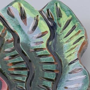 Leaf shaped dish.