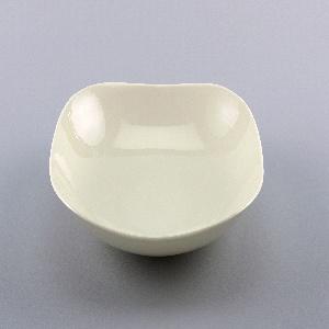 White porcelain dish.