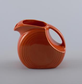 Orange pitcher.