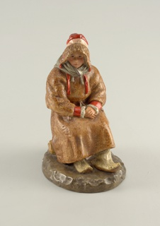 Seated Woman, from Peoples of Russia series Figure