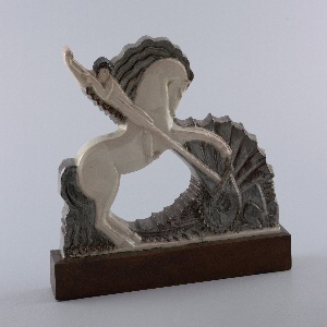 St. George and the Dragon Sculpture, ca. 1924