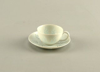 Cup And Saucer (Finland), ca. 1950