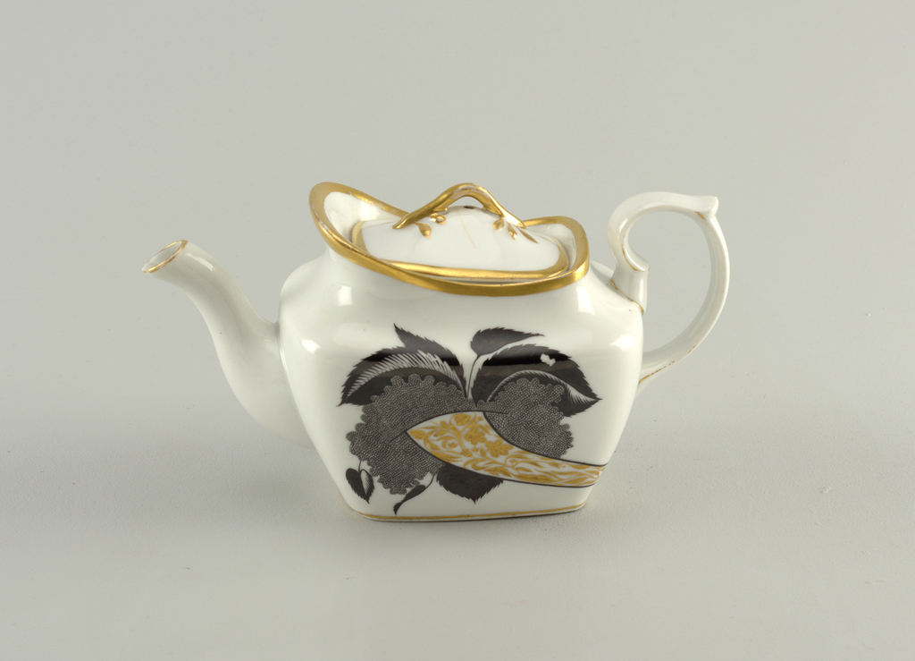 Cornucopia Teapot And Cover