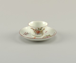 Tea Bowl with Fitted Saucer