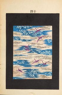 Periodical, Floral design from Bijutsukai, 1902