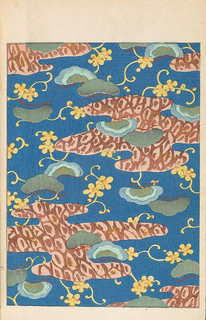 Periodical, Floral and abstract designs from Bijutsukai, 1902