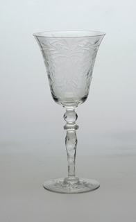 Cut glass decoration