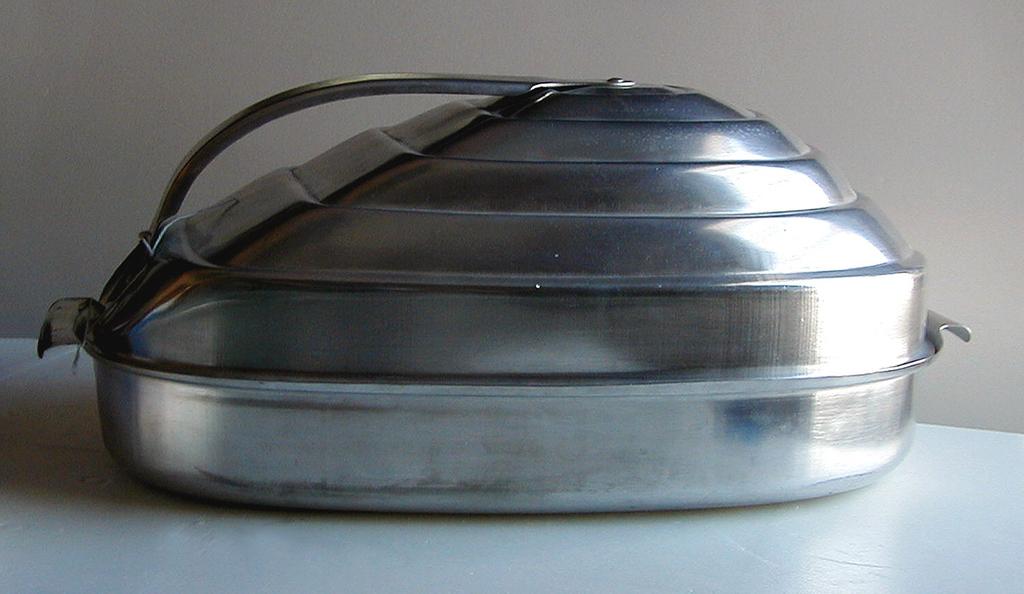 Roasting Pan And Lid (probably USA)