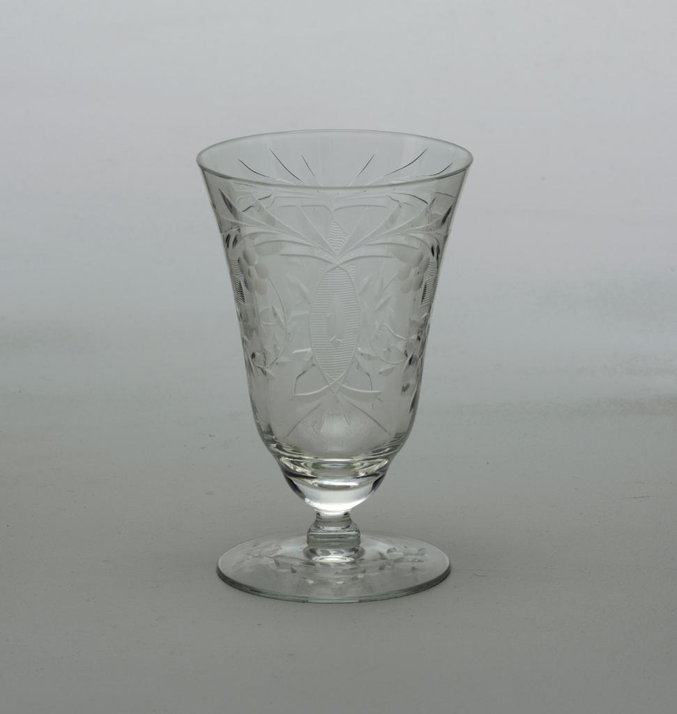 Cut glass decoration
