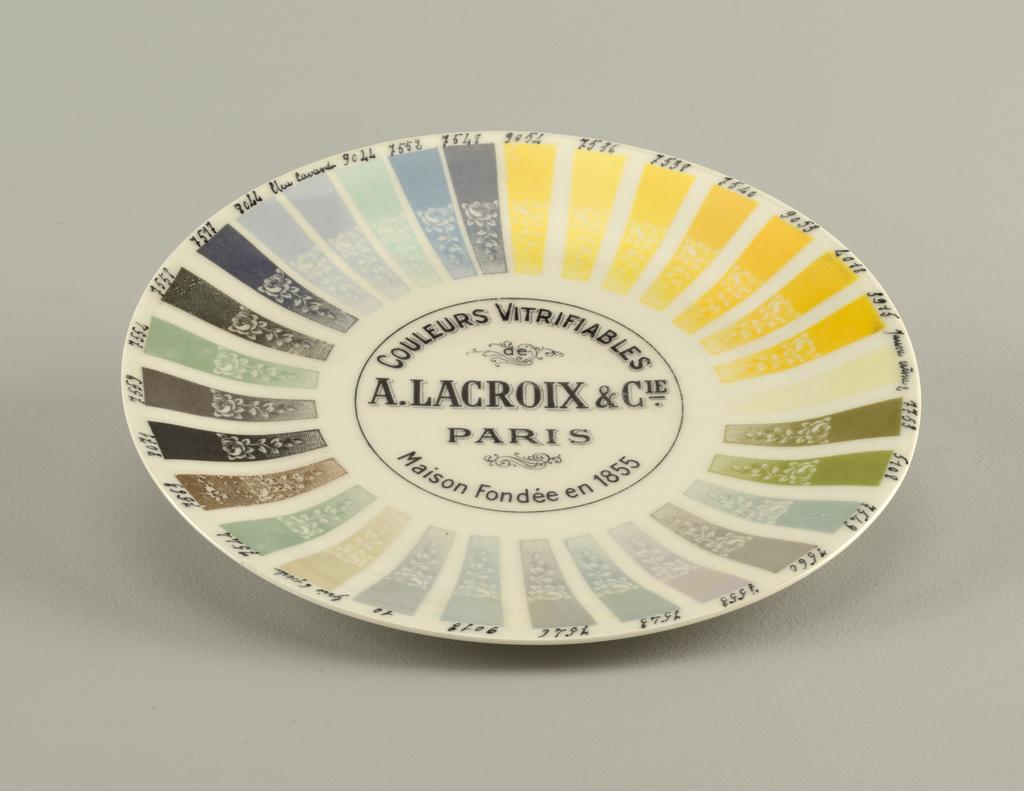 Sample Plate (France)