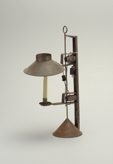 Candlestand W/ Shade