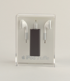 Black aluminum rectangular form.
