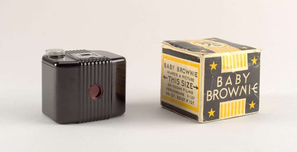 Baby Brownie Camera and Packaging Camera