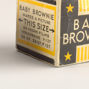 Baby Brownie Camera And Packaging, ca. 1934