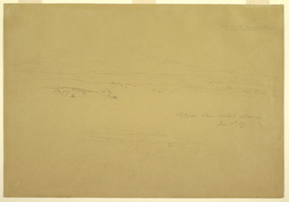 Drawing, Cotopaxi between Machachi and Talunga, June 19, 1857