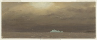 Drawing, Iceberg, Battle Harbour, Labrador