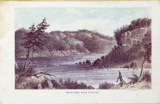 Print, Whirlpool near Niagara