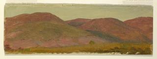 Drawing, Autumn Landscape, ca. 1870