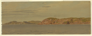 Drawing, Brimstone Head, Fago Island, Newfoundland, 1859