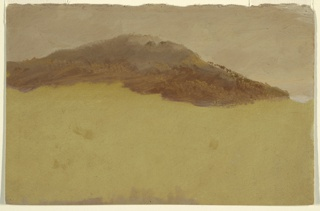 Drawing, Wooded hillside, 1870–80
