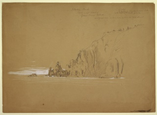 Drawing, Grand Manan Island, September 1851