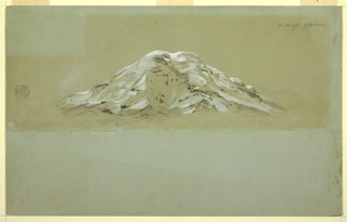 Drawing, Chimborazo, ca. 1857