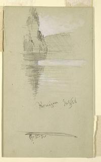 Verso: Rowboat & figures, Königssee