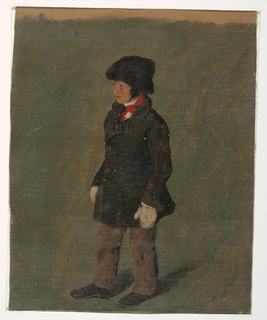 Drawing, A boy (probably Church's son), ca. 1874–75