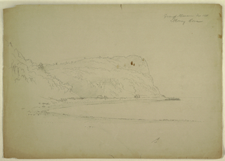 """Drawing, """"Monkey Cave"""", 1851"""