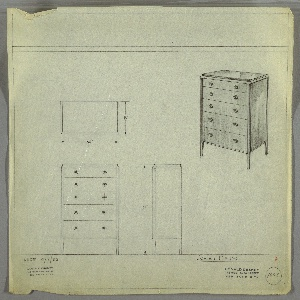 Drawing Chest Of Drawers