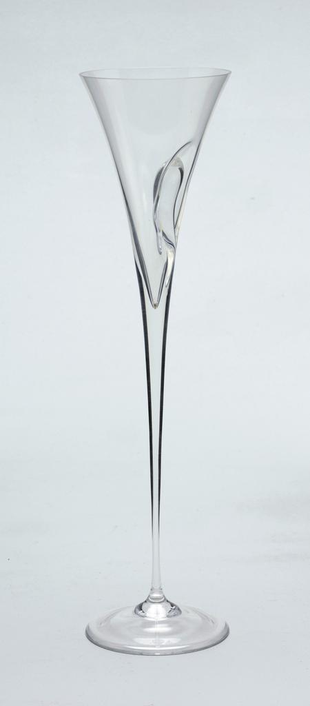 """""""Capriolen"""" glass stemware Flute, 1984"""