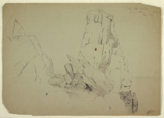 "Drawing, ""The Old Bishop"", September 1851"